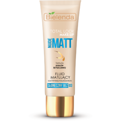 TOTAL LOOK MAKE-UP Fond de ten matifiant sunny beige 03 – 30g BIELENDA
