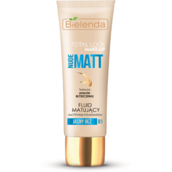 TOTAL LOOK MAKE-UP Fond de ten matifiant bej deschis (light beige) 01 – 30g