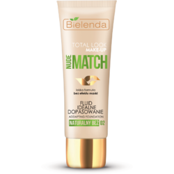"TOTAL LOOK MAKE-UP Fond de ten ""Ideal match"" bej natural (natural beige) 02 – 30g BIELENDA"