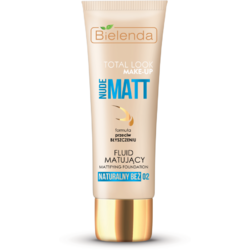 TOTAL LOOK MAKE-UP Fond de ten matifiant bej natural (natural beige) 02 – 30g BIELENDA