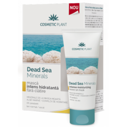 Dead Sea Minerals Masca Intens Hidratanta 50ml COSMETIC PLANT