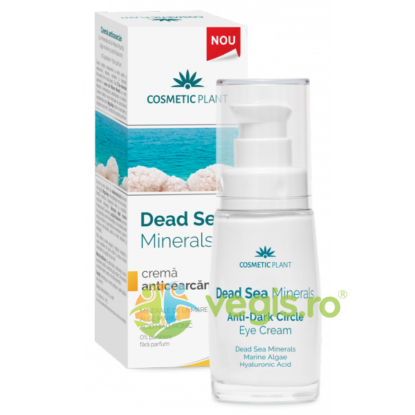Dead Sea Minerals Crema Anticearcan 30ml