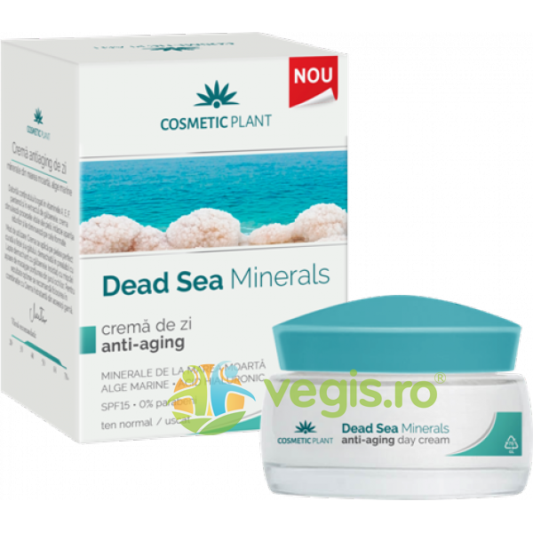Dead Sea Minerals Crema De Zi Anti-aging 50ml