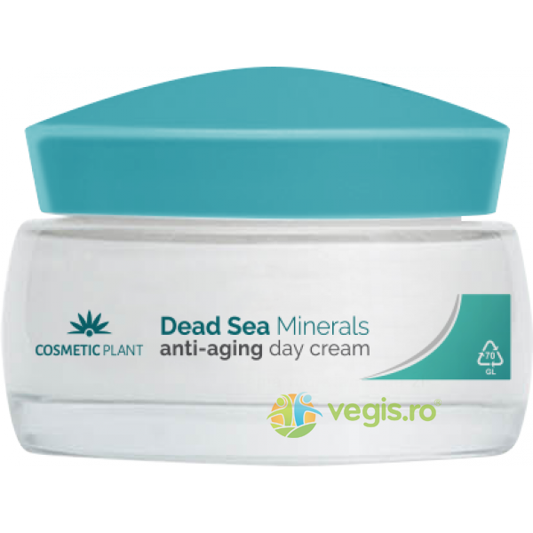 Dead Sea Minerals Crema de Zi Anti-Aging 50ml COSMETIC PLANT