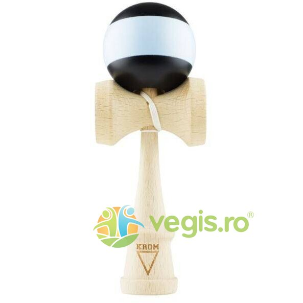 kendama krom rubber stripes (negru+bleu)
