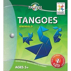 Tangoes Animals 5 ani+ (Magnetic Travel Games) Smart Games