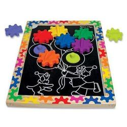 Puzzle magnetic Schimba si roteste - Melissa and Doug