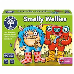 Joc educativ Cizmulitele de cauciuc Smelly Wellies ORCHARD TOYS