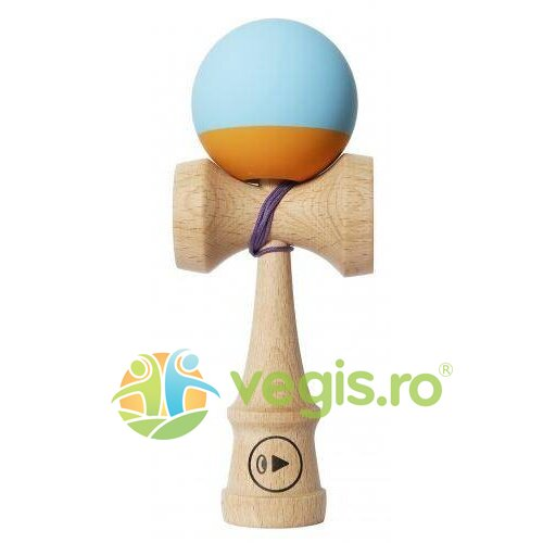 kendama play grip 2k - bleu+portocaliu