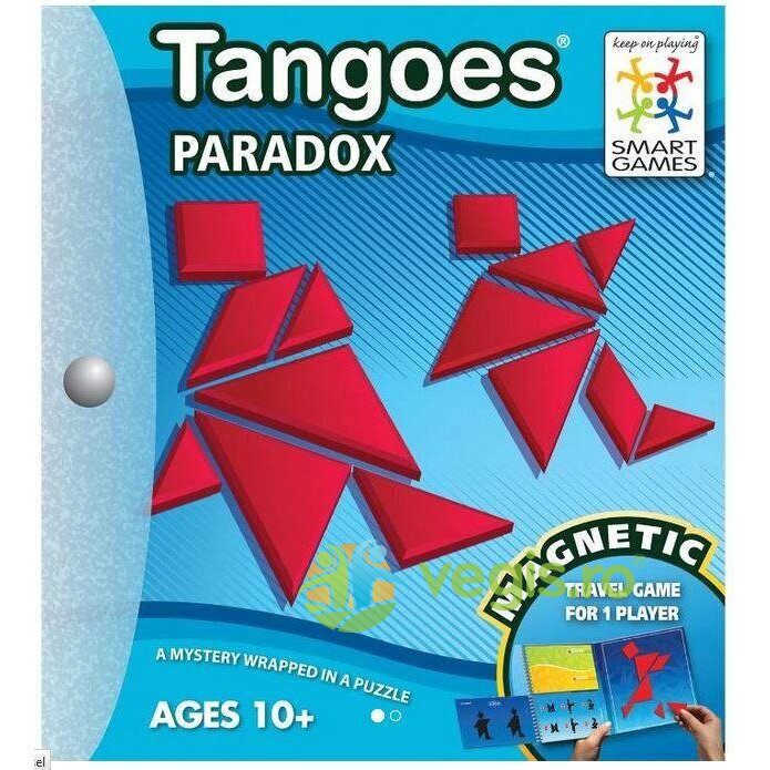 Tangoes Paradox 10 ani+ (Magnetic Travel Games) Smart Games