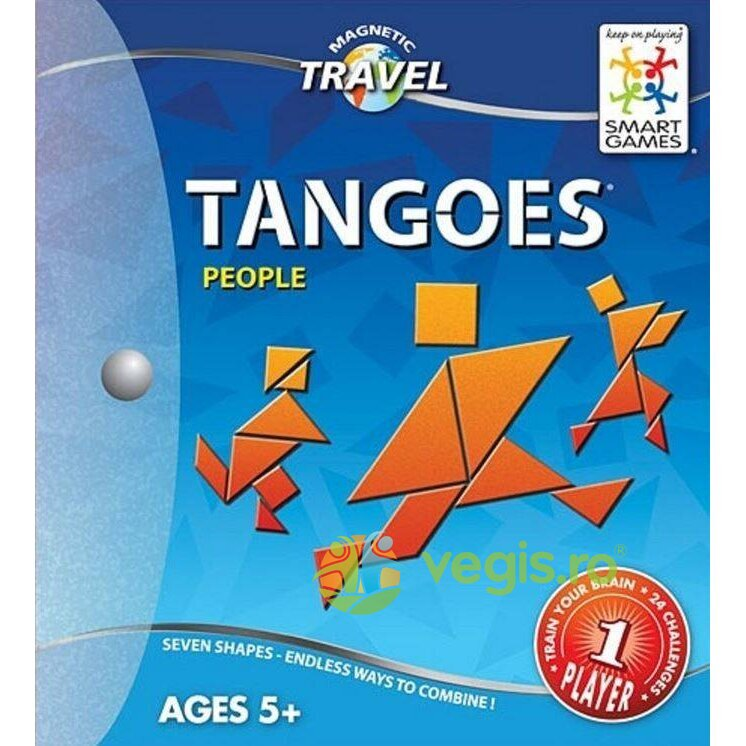 Tangoes People 5 ani+ (Magnetic Travel Games) Smart Games