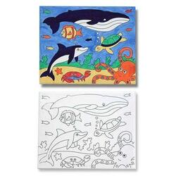 Pictura pe panza canvas - Animale marine Melissa and Doug