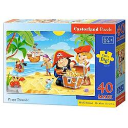 Puzzle 40 Castorland - Maxi Pirate Treasure