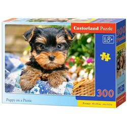 Puzzle 300 Castorland - Puppy on a Picnic