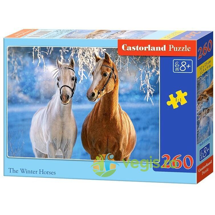 Puzzle 260 Castorland – The Winter Horses
