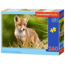 Puzzle 260 Castorland - Little Fox on the Meadow