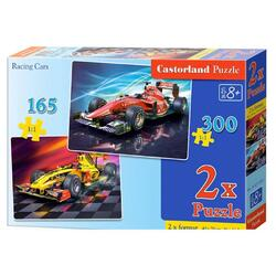 Puzzle 2 in 1 Castorland - Racing Cars