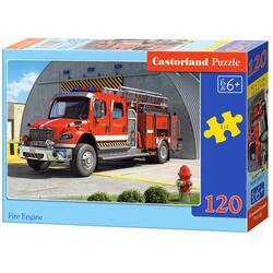Puzzle 120 Castorland - Fire Engine