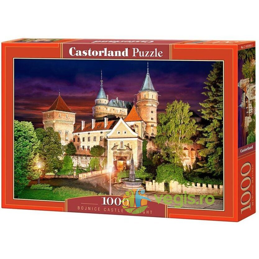 Puzzle 1000 Castorland – Bojnice Castle at Night