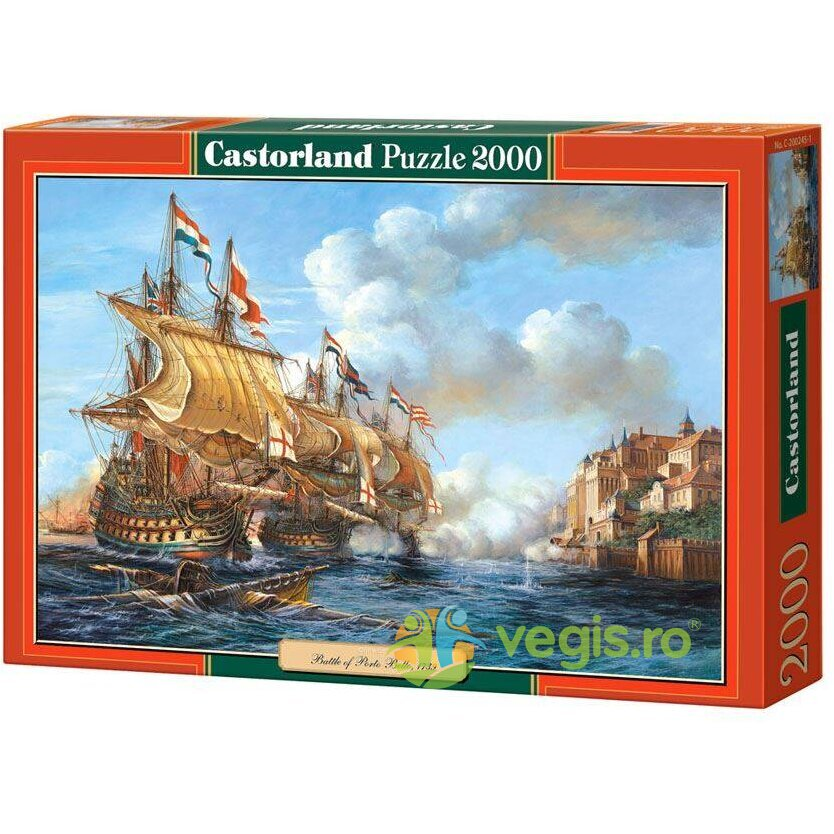 Puzzle 2000 Castorland – Battle of Porto Bello