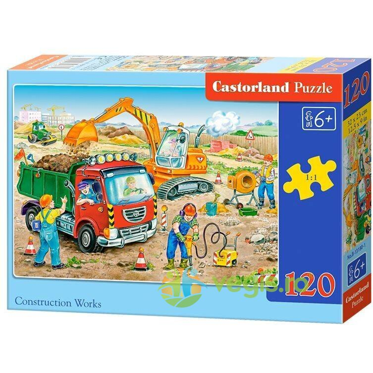 Puzzle 120 Castorland – Construction Works