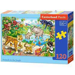 Puzzle 120 Castorland - Animals in the Jungle