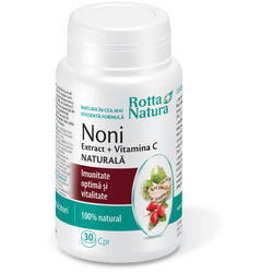 Noni Extract + Vitamina C Naturala 30cpr