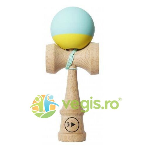 kendama play grip ii - turcoaz+galben