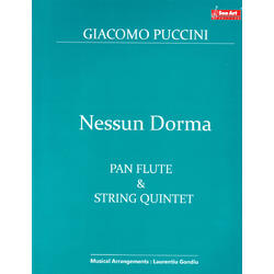 Nessun Dorma. Pan Flute and String Quintet - Giacomo Puccini