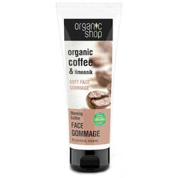 Gommage Facial Morning Coffee 75ml ORGANIC SHOP