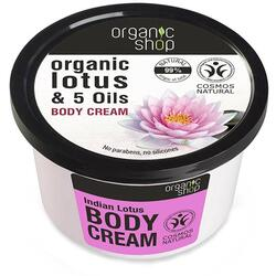 Crema de Corp Lotus Indian 250ml ORGANIC SHOP