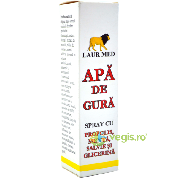 Aur Derm Apa de Gura 30ml LAURMED