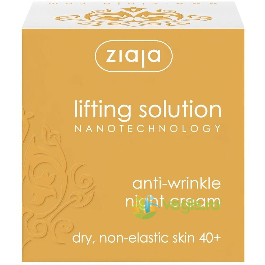 ZIAJA Crema De Noapte Antirid 40+ 50ml – Lifting Solution