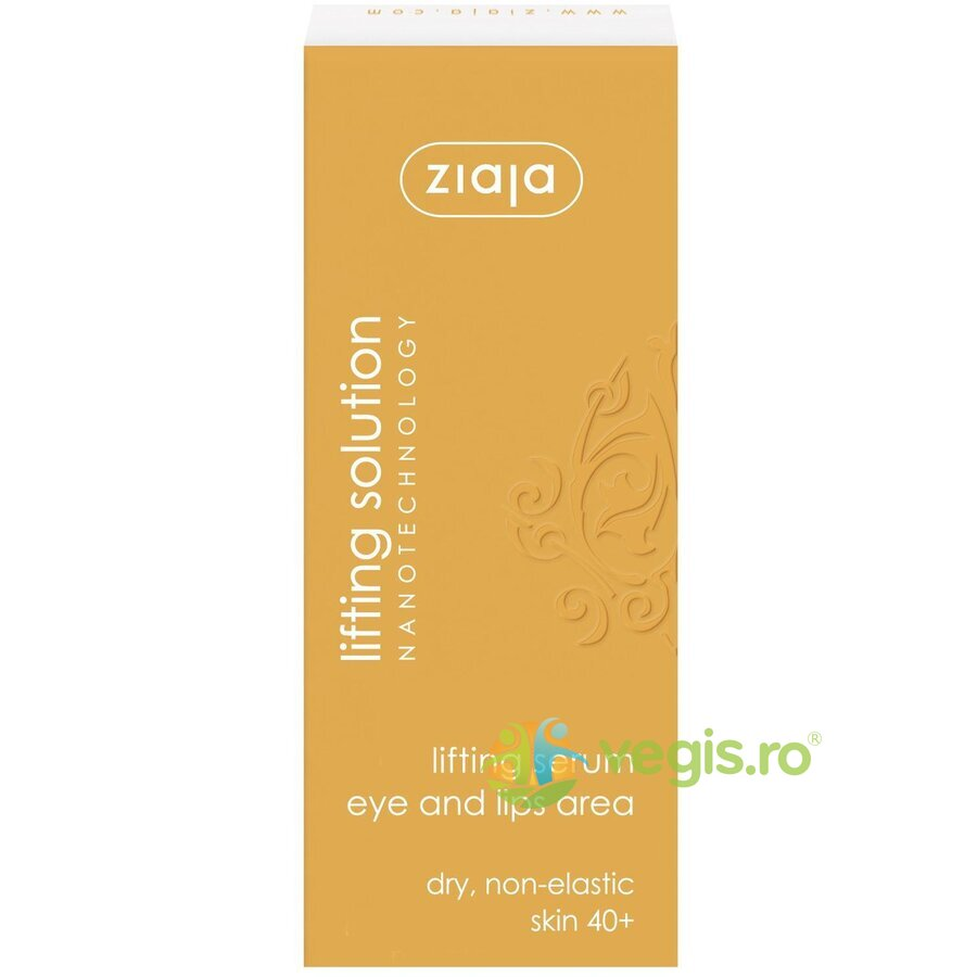ZIAJA Ser Antirid Pentru Ochi Si Buze 40+ 30ml – Lifting Solution