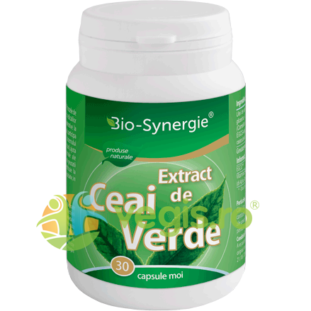 BIO-SYNERGIE ACTIV Extract Ceai Verde 30cps moi