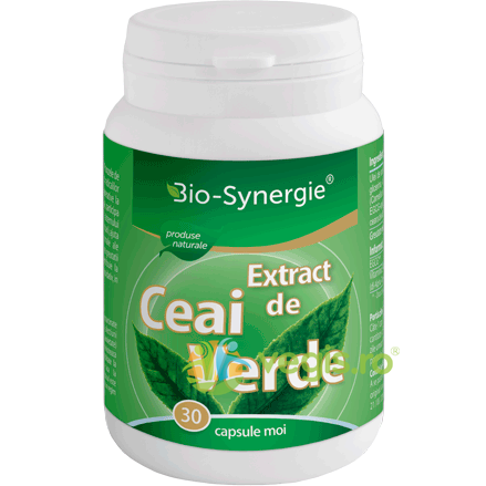 Extract Ceai Verde 30cps BIO-SYNERGIE ACTIV
