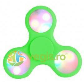 Fidget Spinner LED - Verde