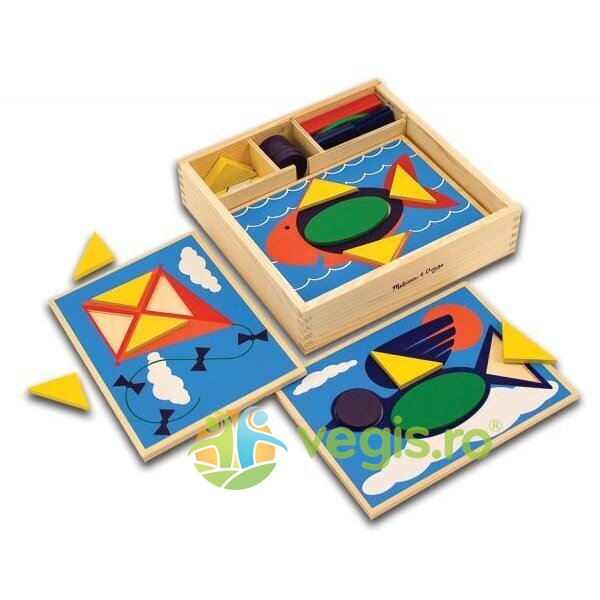 incepem sa invatam formele - melissa and doug