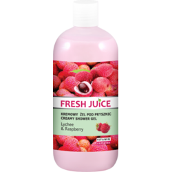 Gel de Dus cu Litchi si Zmeura 500ml FRESH JUICE