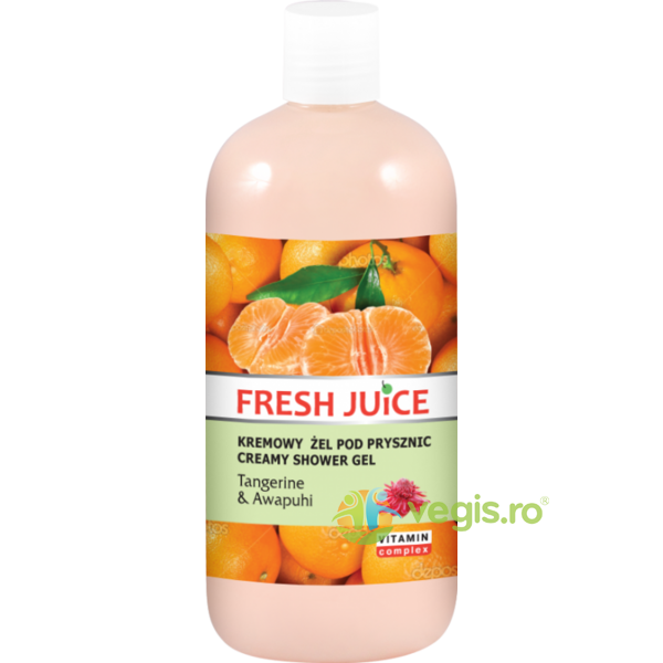 Gel de Dus cu Mandarine si Awapuhi 500ml FRESH JUICE