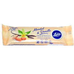 Baton Cu Migdale Si Vanilie Fara Gluten Ecologic/Bio 40g LUBS