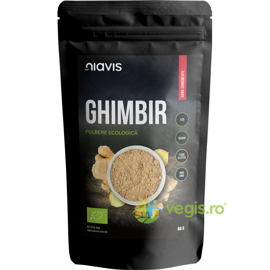 Ghimbir Pulbere Ecologica/Bio 60g thumbnail