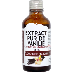 Extract Pur de Vanilie Bourbon din Madagascar 50ml CLOUD NINE FACTORY™