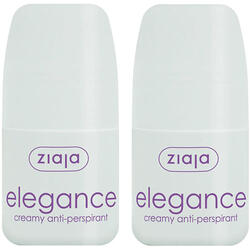 Elegance Antiperspirant Roll-On cu Note de Casmir si Matase 60ml Pachet 1+1 Gratis ZIAJA
