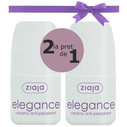 Elegance: Antiperspirant Roll-On Floral 60ml - 2 buc la pret de 1 ZIAJA