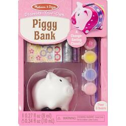 Piggy bank. Set creatie, Pusculita purcelus MELISSA AND DOUG