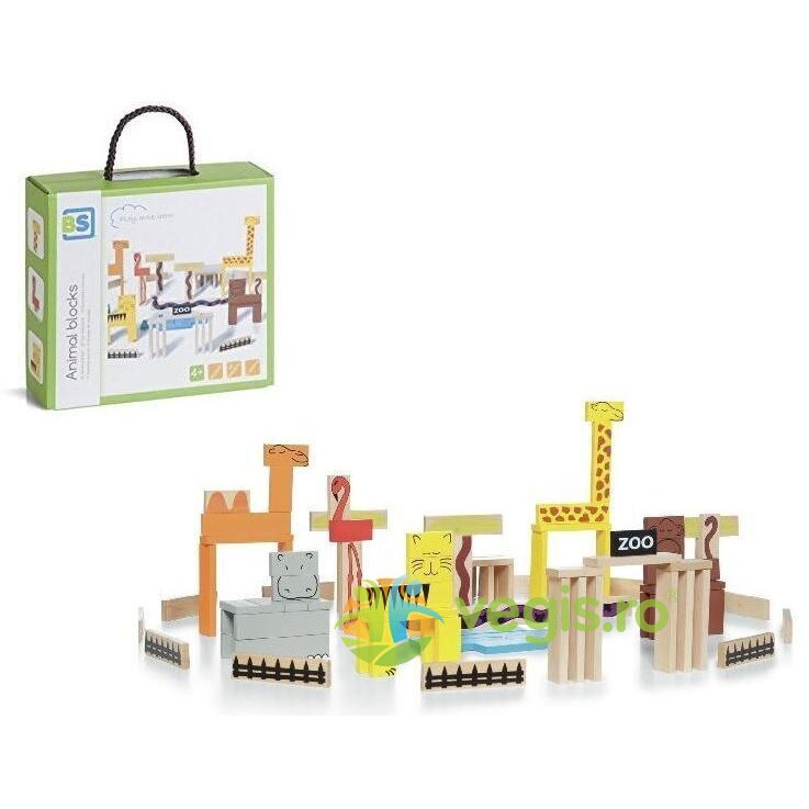 animal blocks. joc de constructie, zoo