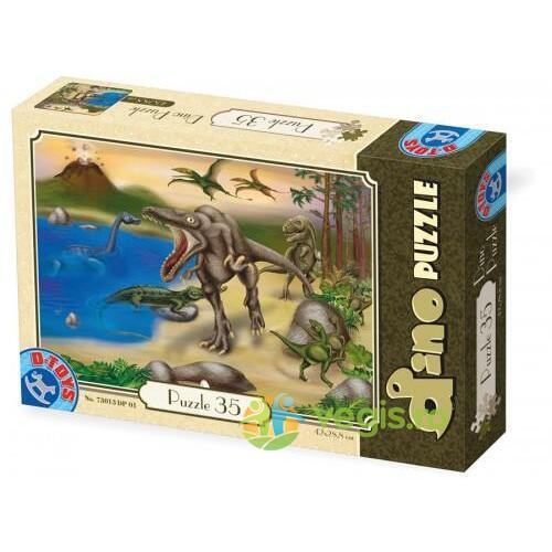 Dino puzzle 35 (73013-01) D TOYS