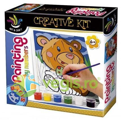Painting by numbers - Creative kit - Leut