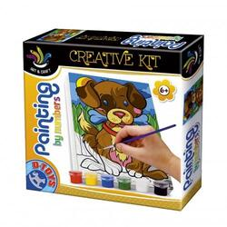 Painting by numbers - Creative kit - Catelus D TOYS